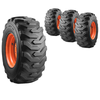 12x16.5 Trac Chief XT Skid Steer Tire And Wheel Set