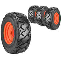 12x16.5 Ultra Guard MX Skid Steer Tire And Wheel Set
