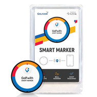 Golfzon Smart Marker (Black) GPS Golfwith Shot Tracker NEW