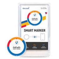 Golfzon Smart Marker (White) GPS Golfwith Shot Tracker NEW