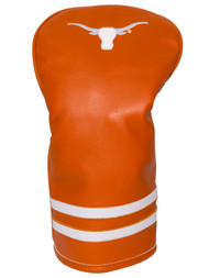 Team Golf Vintage Single Driver Headcover (Texas Longhorns) Fits Oversized NEW