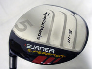 Taylor Made Burner Superfast 5 wood 18* (Matrix Ozik, Regular LEFT) 5w Golf Club