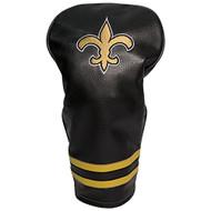 Team Golf Vintage Single Driver Headcover (New Orleans Saints) NFL NEW