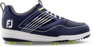 Footjoy FJ FURY Golf Shoes (Navy/White, 11.5, Medium) NEW