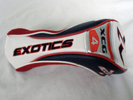 Tour Edge Exotics XCG4 Driver Headcover (Red/White) Golf Club Cover