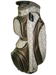 "Glove It Ladies Cart Bag (Brown, 8.5"" 8-way top) Golf"