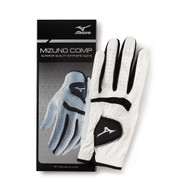 Mizuno Comp Golf Glove (White/Black, LEFT) 2016 NEW
