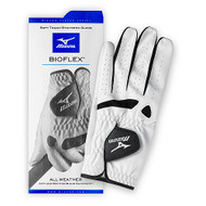 Mizuno BioFlex Golf Glove (White/Black, Men's REGULAR, LEFT) NEW