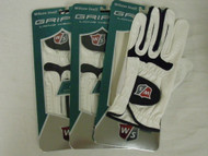 Wilson Grip Ti Golf Gloves Men's Left 3pk NEW