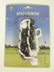 On Course Bead Counter Scorekeeper (Navy) Golf NEW