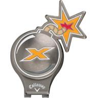 Callaway X Bomb Tour Authentic Hat Clip Golf NEW