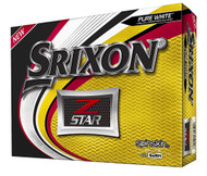 Srixon Z Star Golf Balls (Pure White, Spinskin, 2018, 12pk) NEW