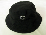 The Otter Company Waterproof Bucket Hat (Black, LARGE) Golf NEW