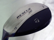 Taylor Made Rescue Mid 3 Hybrid 19* (Graphite, Ladies LEFT) LH Lady Golf Club