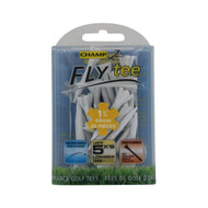 "Champ Fly Tee (1 3/4"", White, 20 pack) Performance Golf Tee NEW"