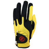Zero Friction Performance Glove (RIGHT, YELLOW) UNIVERSAL ONE SIZE FIT Golf NEW
