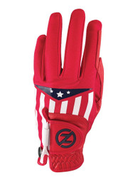 Zero Friction Cabretta Leather Americana Glove (LEFT, Red) Universal Fit NEW