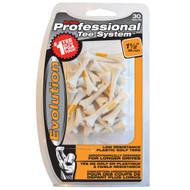 "Pride Professional Tee System Evolution (1.5"" Plastic Tees, 30 pack) Golf NEW"