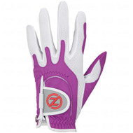 Zero Friction Performance Glove (LADIES, LEFT, LAVENDER) UNIVERSAL FIT Golf NEW