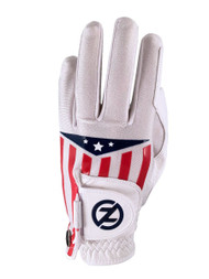 Zero Friction Cabretta Leather Americana Glove (LEFT, White) Universal Fit NEW