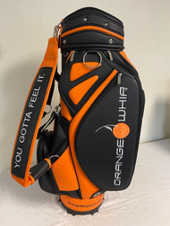 "Orange Whip Staff Bag (Org/Black, 9.5"" 6-way top) Golf NEW"