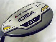 Adams Idea A7 3 Iron 19* Hybrid (UST Proforce STIFF, LEFT) Rescue Golf Club LH