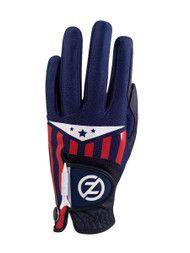 Zero Friction Cabretta Leather Americana Glove (LEFT, Blue) Universal Fit NEW