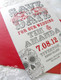 IN REVERSE: Black & Red Bold Sugar Skulls Save the Date
