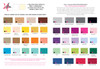 ink color ideas / envelope color upgrade options