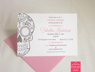 Lingerie Bridal Shower Party Invitation