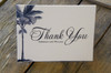 Palm Tree Thank You Folded Card Script + Personalization (optional)