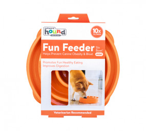Fun Feeder Slo-Bowl Mini Orange