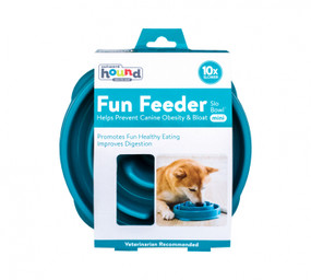 Fun Feeder Slo-Bowl Mini Teal