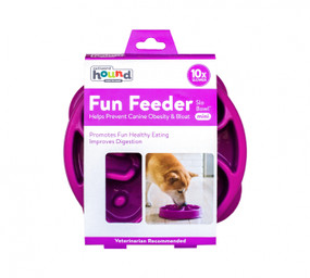 Fun Feeder Slo-Bowl Mini Purple