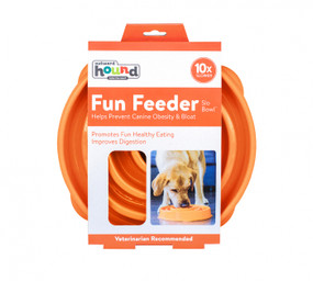Fun Feeder Slo-Bowl Orange