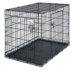 Petmate Wire Crate 2 Door Training Kennel 42""
