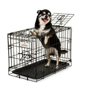 Petmate Wire Crate 2 Door Training Kennel 19""