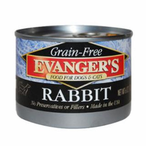 Evanger's Rabbit Grain Free Food