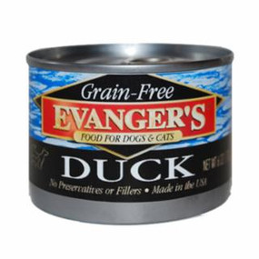 Evanger's Duck Grain Free Food