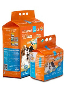 WizSmart Dog Pad Super 14 Ct