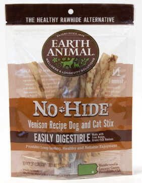 Earth Animal No-Hide Venison Stix