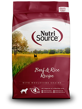 NutriSource Beef & Rice Formula