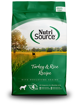 NutriSource Turkey & Rice Formula