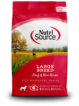 NutriSource Beef & Rice Large Breed Formula