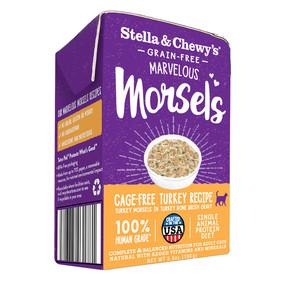 Stella & Chewy's Cage Free Turkey Morsels 5.5oz