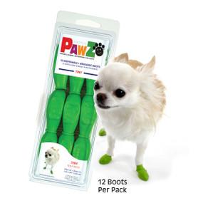 PawZ Rubber Dog Boots - Black