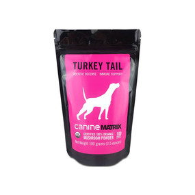 CanineMatrix Turkey Tail 100g