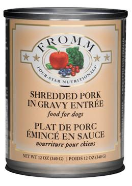 Fromm Four-Star Shredded Pork in Gravy Entree