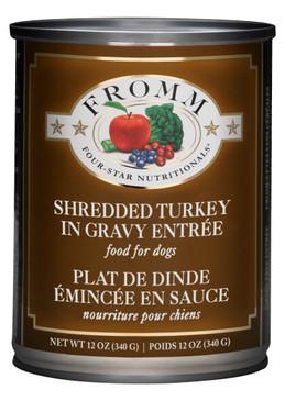 Fromm Four-Star Shredded Turkey in Gravy Entree