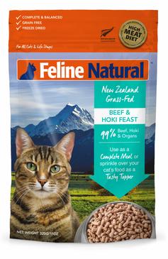 Feline Naturals Beef & Hoki Feast